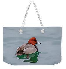 Redhead 3 Weekender Tote Bag