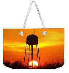 Redneck Water Heater For Whole Town Weekender Tote Bag by J R Seymour