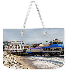 Redondo Beach Pier Shopping Weekender Tote Bag
