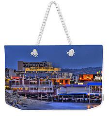 Redondo Landing Weekender Tote Bag by Richard J Cassato