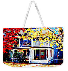 Reds And Yellows Weekender Tote Bag
