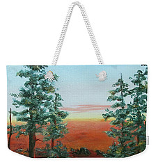 Redwood Overlook Weekender Tote Bag by Roseann Gilmore