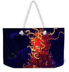 Redyellowbluenight Weekender Tote Bag