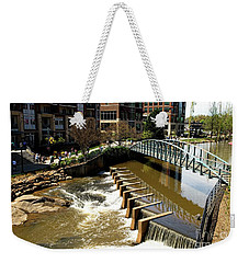 Reedy Creek Greenville South Carolina Weekender Tote Bag by Bob Pardue