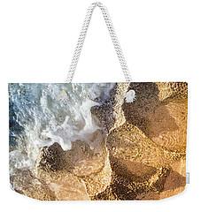 Reefy Textures Weekender Tote Bag