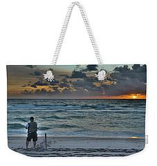 Reeling In The Sun Weekender Tote Bag