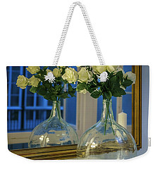 Weekender Tote Bag featuring the photograph Reflected Demijohn Cadiz Spain by Pablo Avanzini
