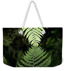 Reflected Ferns Weekender Tote Bag