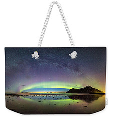 Reflected Lights Weekender Tote Bag by Alex Conu