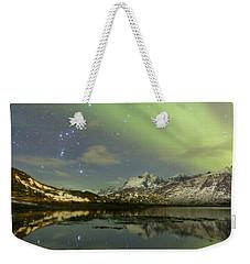 Reflected Orion Weekender Tote Bag