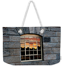 Reflected Sunset Sky Weekender Tote Bag by Helen Northcott