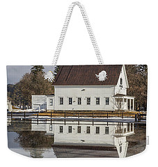 Reflected Town House Weekender Tote Bag by Tim Kirchoff