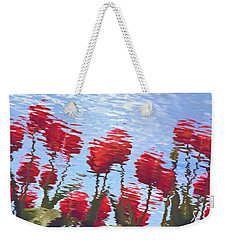 Reflected Tulips Weekender Tote Bag