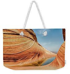 Reflected Wave Weekender Tote Bag