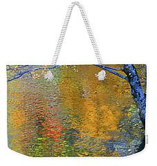 Reflecting Autumn Weekender Tote Bag