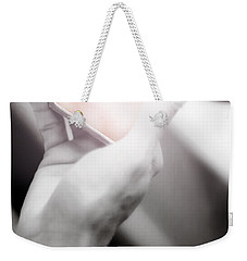 Weekender Tote Bag featuring the photograph Reflecting On Age And Beauty by Jorgo Photography - Wall Art Gallery