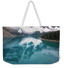 Reflecting On Reflections Weekender Tote Bag by Nicki Frates