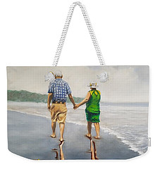 Reflecting Happiness Weekender Tote Bag by Jason Marsh