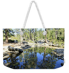 Weekender Tote Bag featuring the photograph Reflecting Pond by Sean Sarsfield