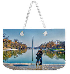 Reflecting Pool Weekender Tote Bag