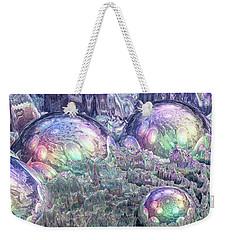 Reflecting Spheres In Space Weekender Tote Bag