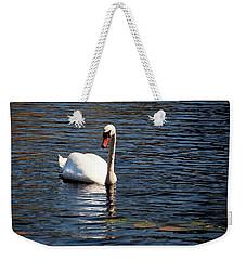 Reflecting Swan Weekender Tote Bag