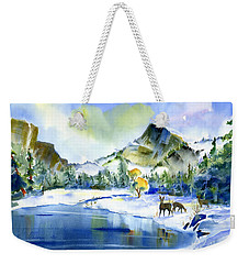 Reflecting Yosemite Weekender Tote Bag