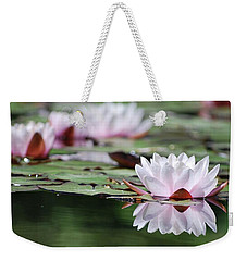 Weekender Tote Bag featuring the photograph Reflection by Amee Cave