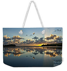 Reflection And Sunrays   Weekender Tote Bag