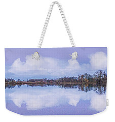 Reflection At Dusk Weekender Tote Bag