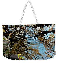 Reflection Disturbed Weekender Tote Bag