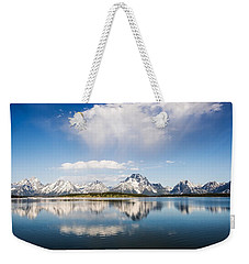 Reflection Grand Tetons Weekender Tote Bag