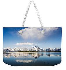 Reflection Grand Tetons Weekender Tote Bag