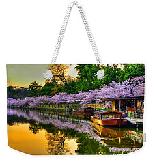 Reflection In Gold Weekender Tote Bag