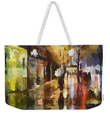 Reflection In The Rain Weekender Tote Bag
