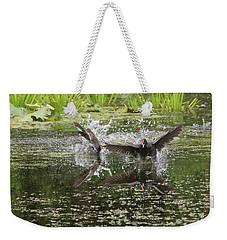 Reflection In Water  Weekender Tote Bag