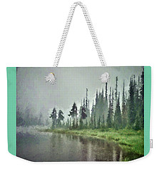 Reflection Lake, Mt Rainier Fine Art Print Weekender Tote Bag by Greg Sigrist