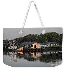 Reflection Noitcelfer Weekender Tote Bag by Roberta Byram