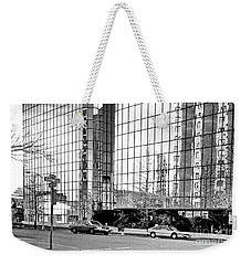 Reflection Of A City Weekender Tote Bag