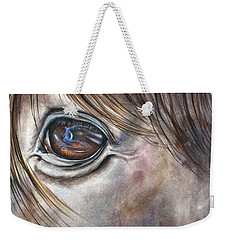 Reflection Of A Painted Pony Weekender Tote Bag