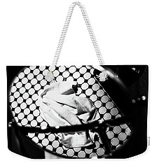 Reflection Of Towel In Mirror Weekender Tote Bag