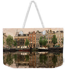 Reflection On The Amstel Weekender Tote Bag