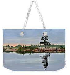 Reflection On The Bay Weekender Tote Bag