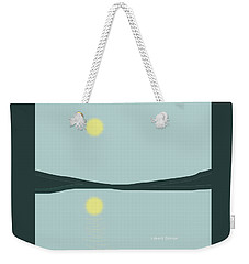 Reflection On The Landscape Weekender Tote Bag
