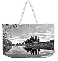 Reflection On The Lehigh Weekender Tote Bag