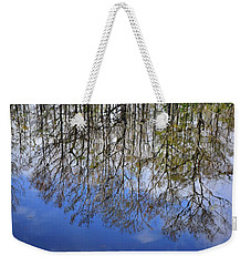 Reflection Straight Up Weekender Tote Bag