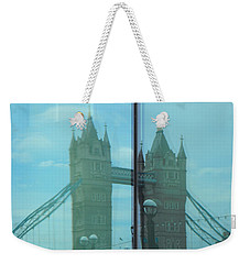 Reflection Tower Bridge Weekender Tote Bag