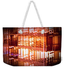 Reflectionary Phase Weekender Tote Bag