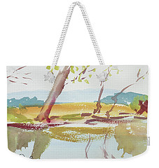 Quiet Stream Weekender Tote Bag