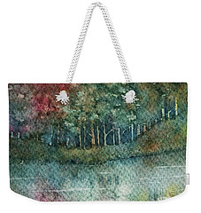 Reflections Along The Water Weekender Tote Bag
